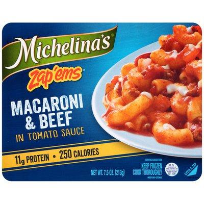 Michelina's Zap 'Ems In Tomato Sauce Macaroni & Beef