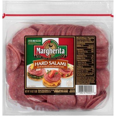 Margherita Sliced Hard Salami