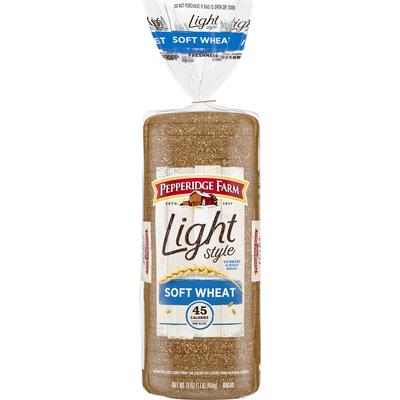 Pepperidge Farm®  Light Style Light Style 100% Whole Wheat Bread