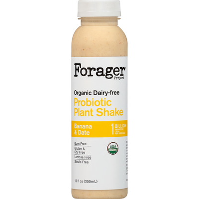 Forager Project Banana & Date Dairy-Free Probiotic Smoothie