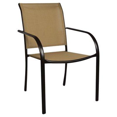 Sunjoy Chair, Stacking, Tan