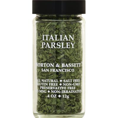 Morton & Bassett Spices Parsley, Italian