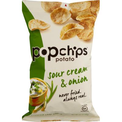 popchips Potato Chips Sour Cream & Onion