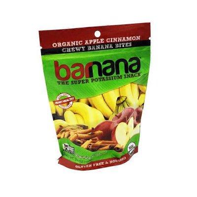 Barnana Organic Chewy Banana Bites, The Super Potassium Snack, Apple Cinnamon