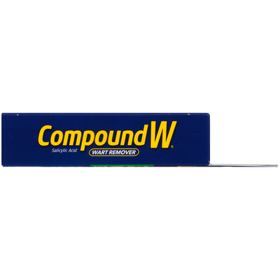 CompoundW Maximum Strength One Step Invisible Medicated Strips Wart Remover