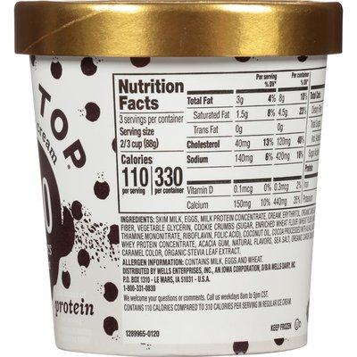 Halo Top Cookies and Cream Light Ice Cream Pint