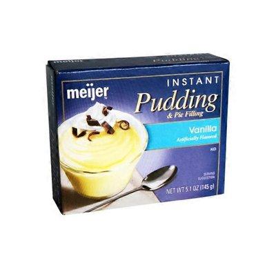 Meijer Pudding & Pie Filling, Instant, Vanilla