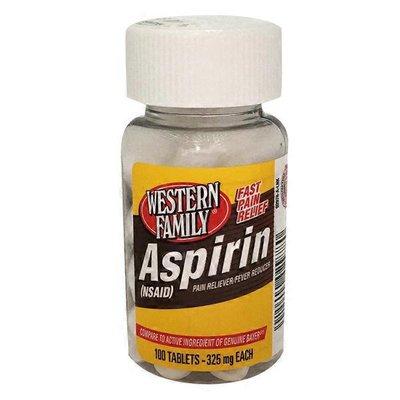 Western Family Aspirin 325 mg Tablets
