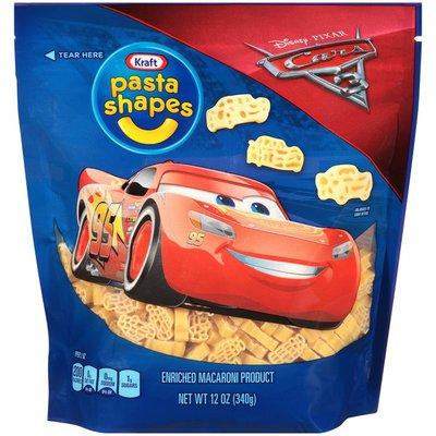 Kraft Pasta Shapes with Disney Pixar Cars 3 Macaroni Shaped Pasta