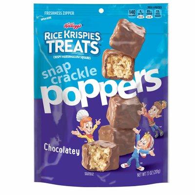 Kellogg's Rice Krispies Treats Poppers Crispy Marshmallow Squares, Chocolatey