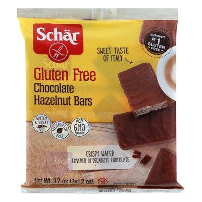 Schar. Bars, Gluten Free, Chocolate Hazelnut