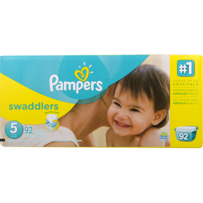 Pampers Swaddlers Diapers Size Diapers