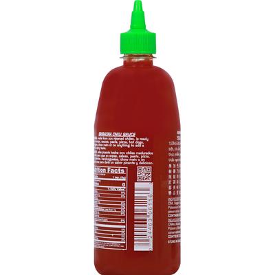 Huy Fong Hot Sriracha Chili Sauce