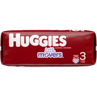 Huggies Baby Diapers, Size 3
