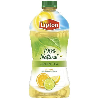 Lipton Green with Citrus All Natural Iced Tea