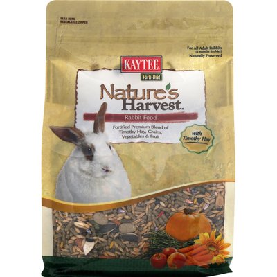 Kaytee Rabbit Food, with Timothy Hay