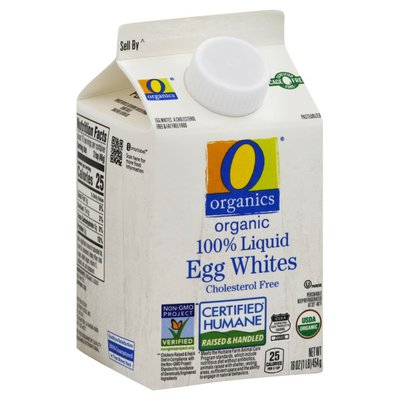 O Organics Organic 100% Liquid Egg Whites
