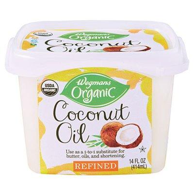 Wegmans Organic Coconut Oil, Refined