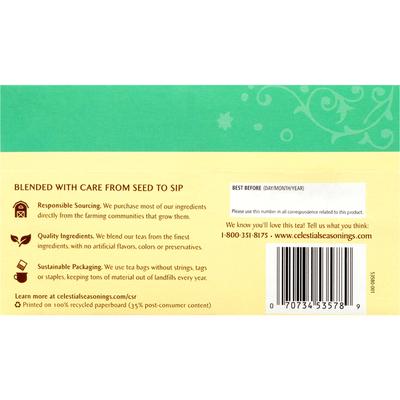 Celestial Seasonings Sleepytime Mint Caffeine Free Herbal Tea Bags