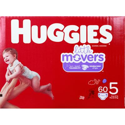 Huggies Diapers, Size 5