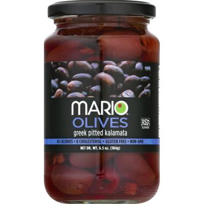 Mario Olives, Kalamata, Pitted, Greek