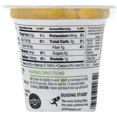 Food Lion Corn, Whole Kernel Sweet, Microwaveable, Cup/Tub