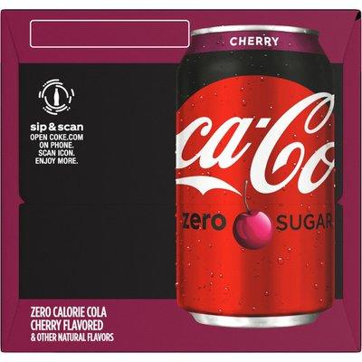 Coca-Cola Cherry Diet Soda Soft Drink