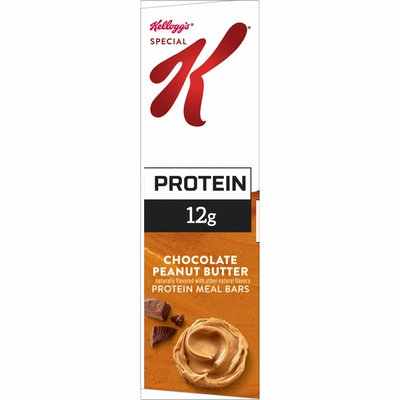 Kellogg's Special K Protein Bars, Meal Replacement, Protein Snacks, Chocolate Peanut Butter