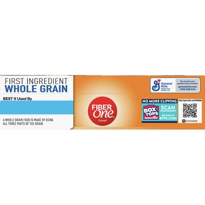 Fiber One Bran Cereal, with Whole Grain, Original