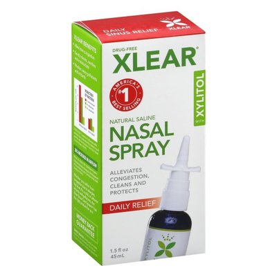 Xlear Nasal Spray, with Xylitol, Daily Relief