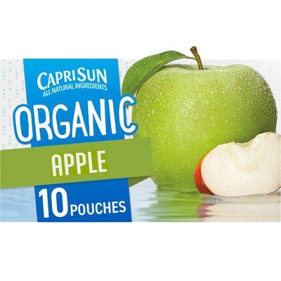 Capri Sun Apple Juice Naturally Flavored Drink