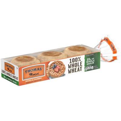 Thomas' 100% Whole Wheat English Muffin