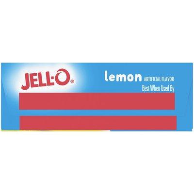 Jell-O Lemon Sugar Free Gelatin Dessert Mix
