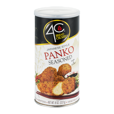 4C Bread Crumbs, Japanese Style Panko, Seasoned