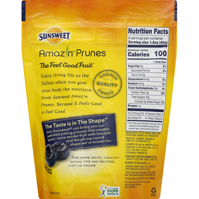Sunsweet Prunes, Pitted