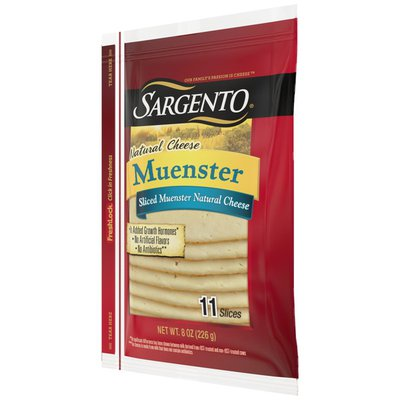 Sargento® Sliced Muenster Natural Cheese