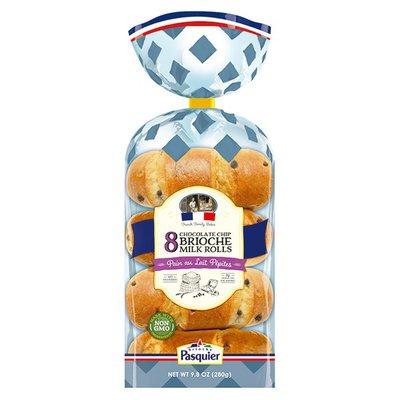 Brioche Pasquier Brioche Chocolate Chips Milk Rolls