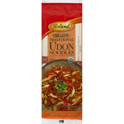 Roland Udon Noodles, Organic, Traditional