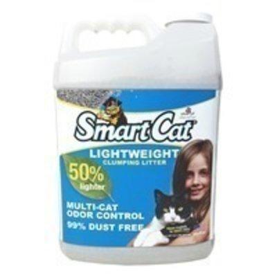 SmartCat Lightweight Clumping Cat Litter Multi-Cat Odor Control 99% Dust Free