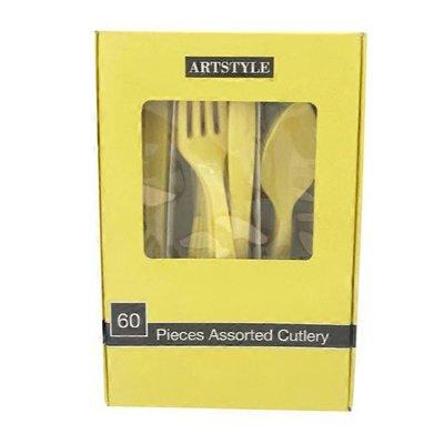 First Street Artstyle Mimosa Combo Cutlery