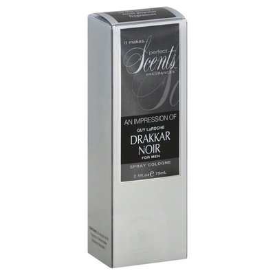 Perfect Scents Spray Cologne, for Men, An Impression of Guy LaRoche Drakkar Noir
