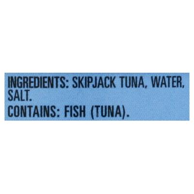 Open Nature Tuna in Water, Skipjack, Chunk Light, Wild Caught