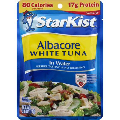 StarKist White Tuna, Albacore, in Water