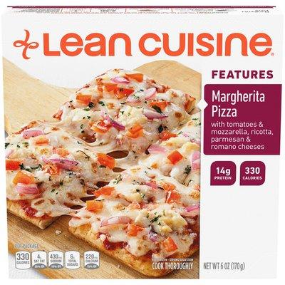 Lean Cuisine Features Margherita Frozen Pizza