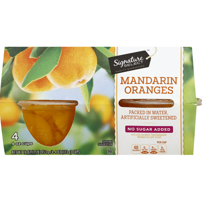 Signature Kitchens Mandarin Oranges, No Sugar Added