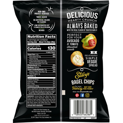 Stacy's Toasted Garlic Bagel Chips