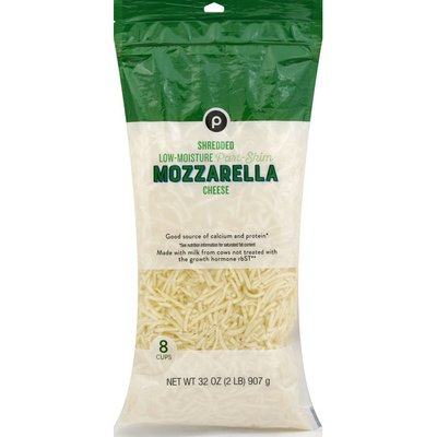 Publix Cheese, Part-Skim, Mozzarella, Low-Moisture, Shredded