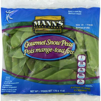 Mann Snow Peas, Gourmet