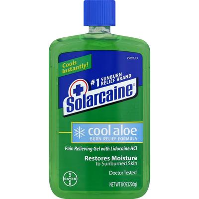 Solarcaine Burn Relief Gel, Cool Aloe