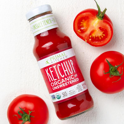 Primal Kitchen Ketchup, Organic and Unsweetened